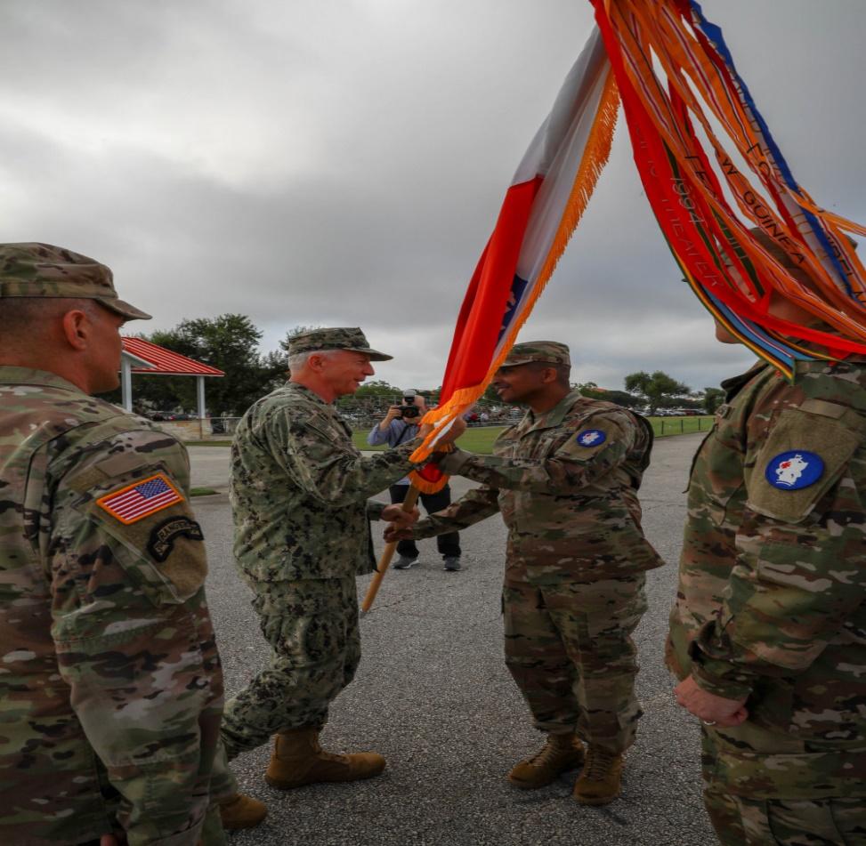 Ejército Sur de los EE. UU. recibe a nuevo comandante general