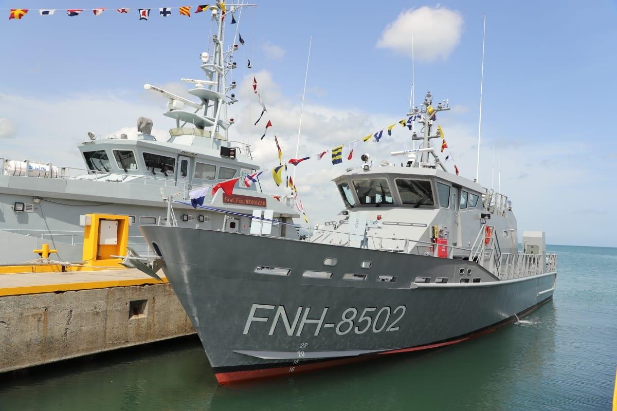 US Donates Patrol Boat to Honduras