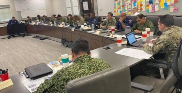 Military Experts at the Strategic Leaders International Course Discuss Women, Peace, and Security Strategy