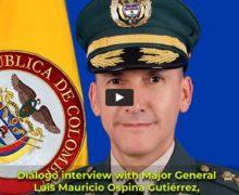 Colombian Army Major General Luis Mauricio Ospina Gutiérrez, director of General Rafael Reyes Prieto War College