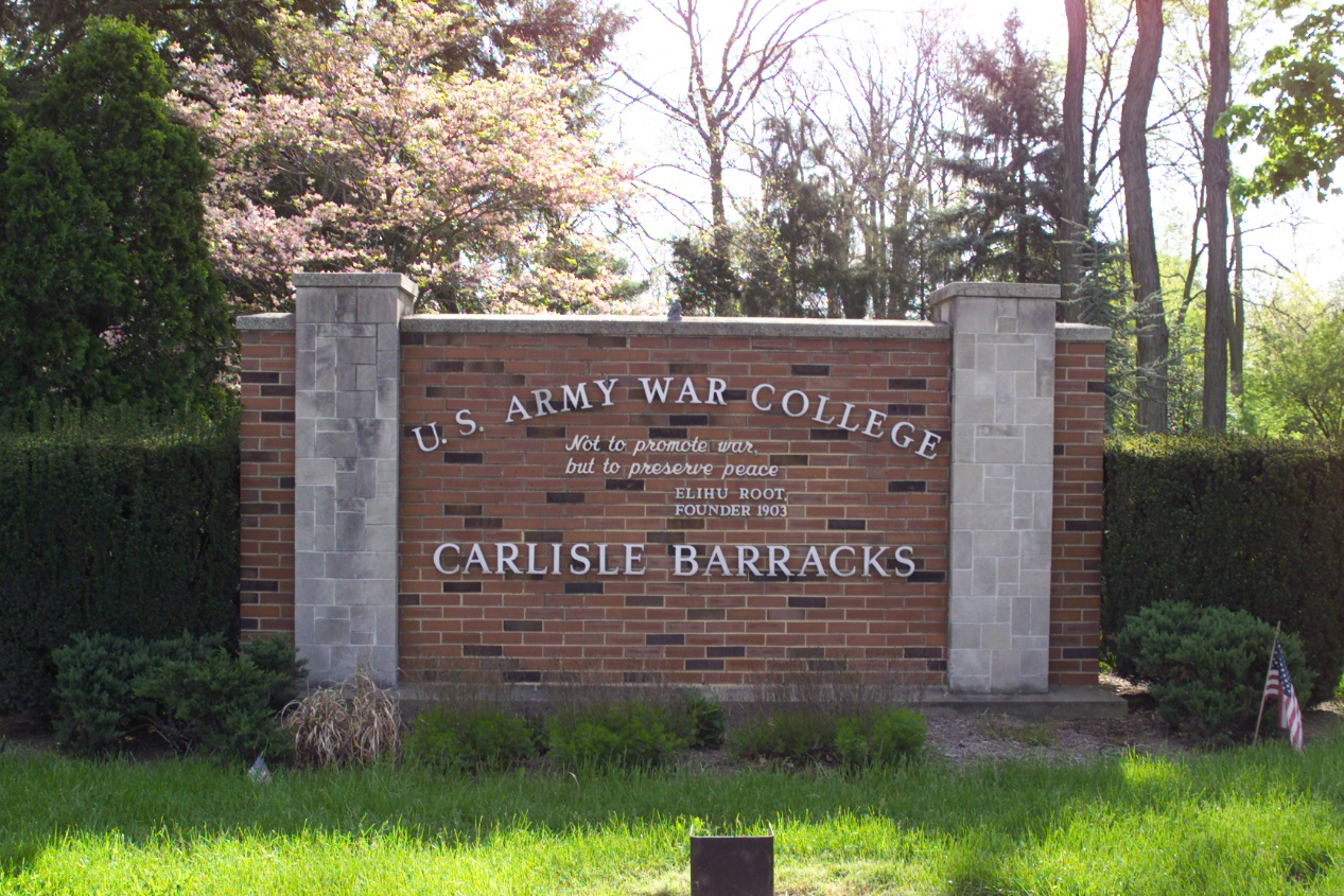 US Army War College — Lasting Bonds of Friendship, Understanding, and Cooperation