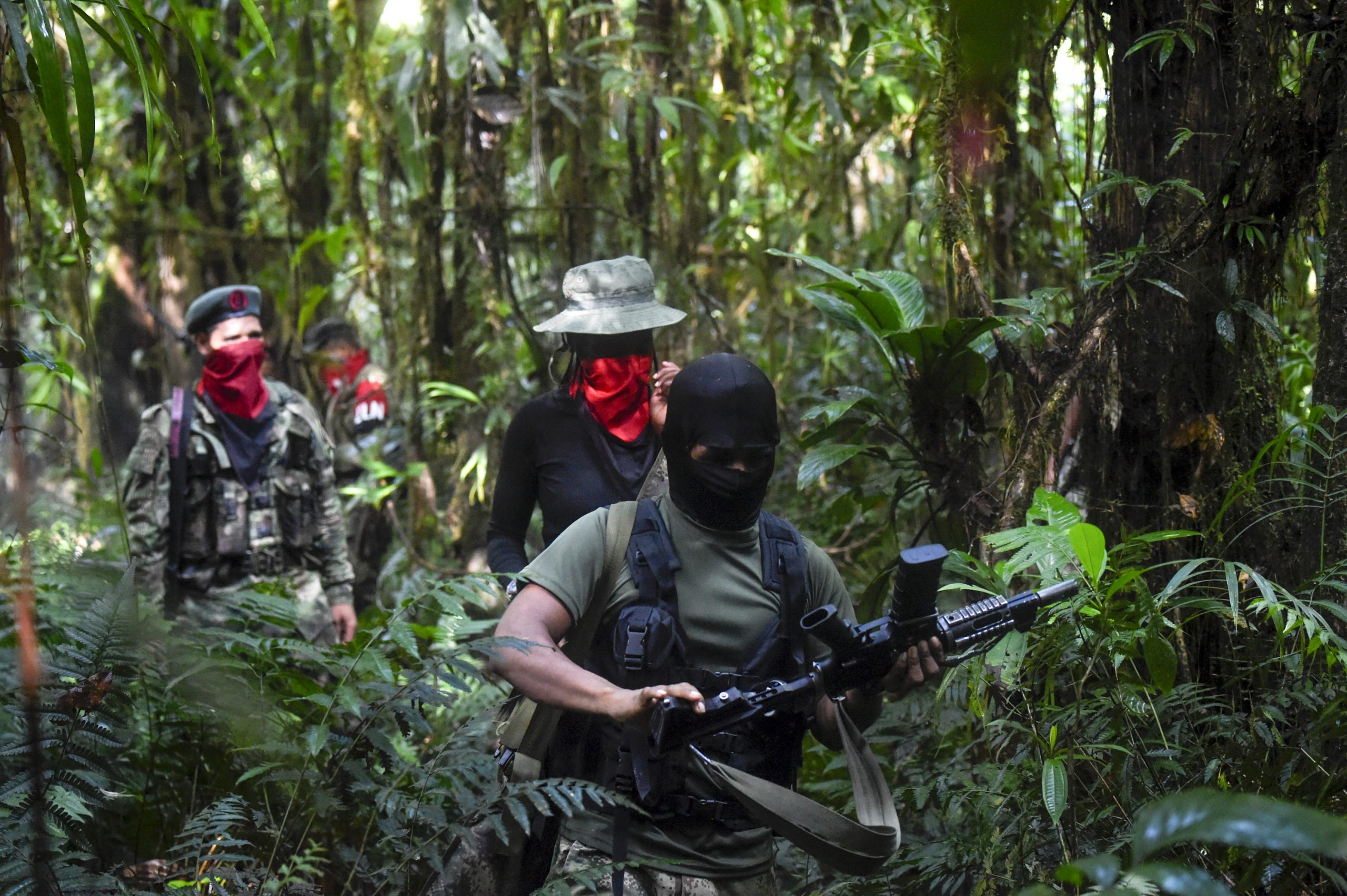 The Reinforcing Activities of the ELN in Colombia and Venezuela