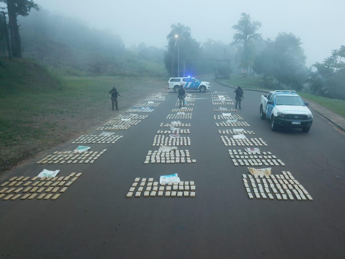 Argentina atrapa narcotraficantes e incauta nueve toneladas de marihuana