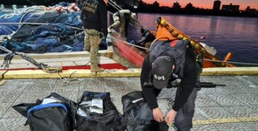Brazilian Federal Police Seizes Nearly 4 Tons of Cocaine in Fishing Boats