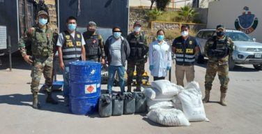 Peru: National Police Destroys More Than 10 Tons of Chemical Precursors in Less Than a Week