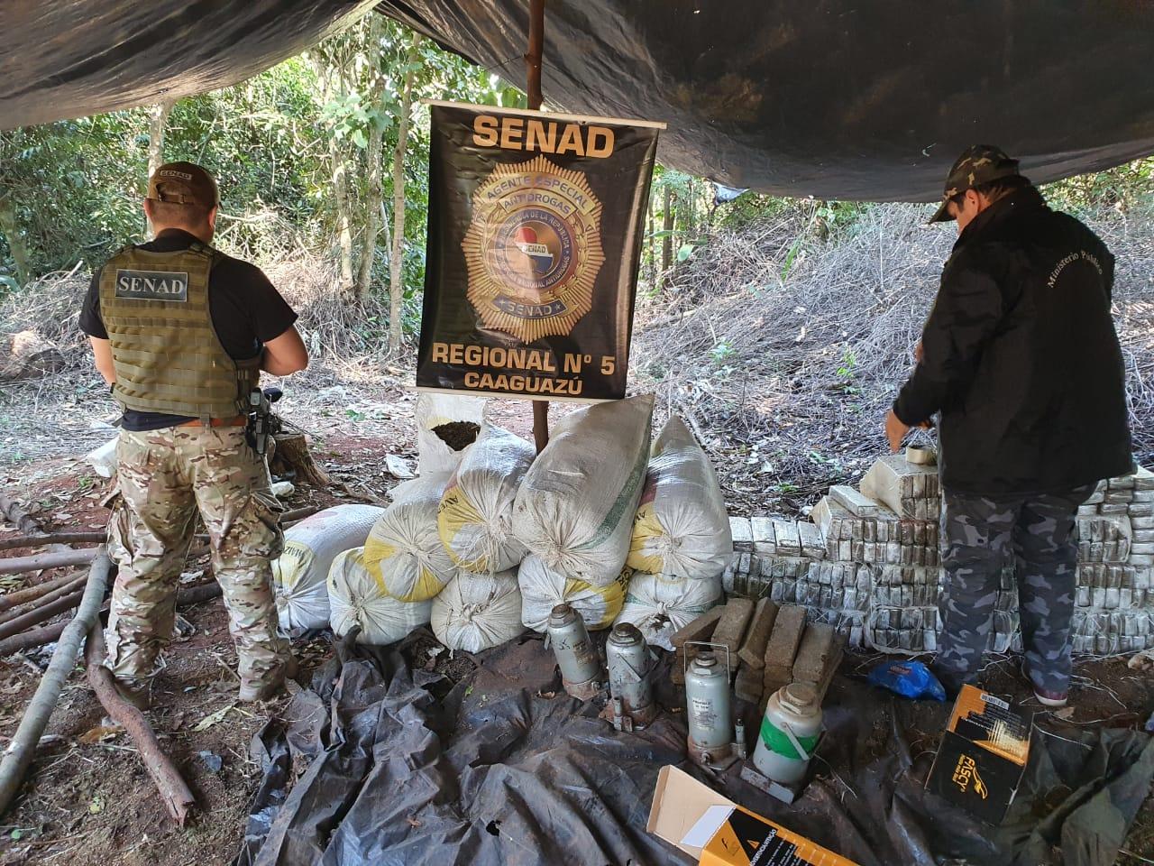 Paraguai: agentes antidrogas apreendem 2 toneladas de maconha