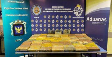 Uruguai combate o tráfico crescente de cocaína para a Europa