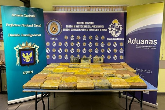 Uruguay: Fighting the Increasing Transit of Cocaine to Europe