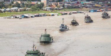 Brasil, Colombia y Perú navegan juntos en Bracolper 2021