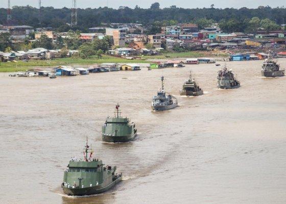 Brazil, Colombia, Peru Sail Together in Bracolper 2021