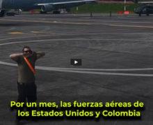 Durante un mes, las fuerzas aéreas de los Estados Unidos y Colombia entrenaron conjuntamente en el ejercicio Relámpago VI, en Rionegro, Colombia.