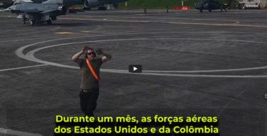 Durante um mês, as forças aéreas dos Estados Unidos e da Colômbia treinaram juntas no Exercício Relâmpago VI, em Rionegro, Colômbia