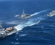 Ecuadorian Navy Monitors Fishing Fleet Approaching Galápagos