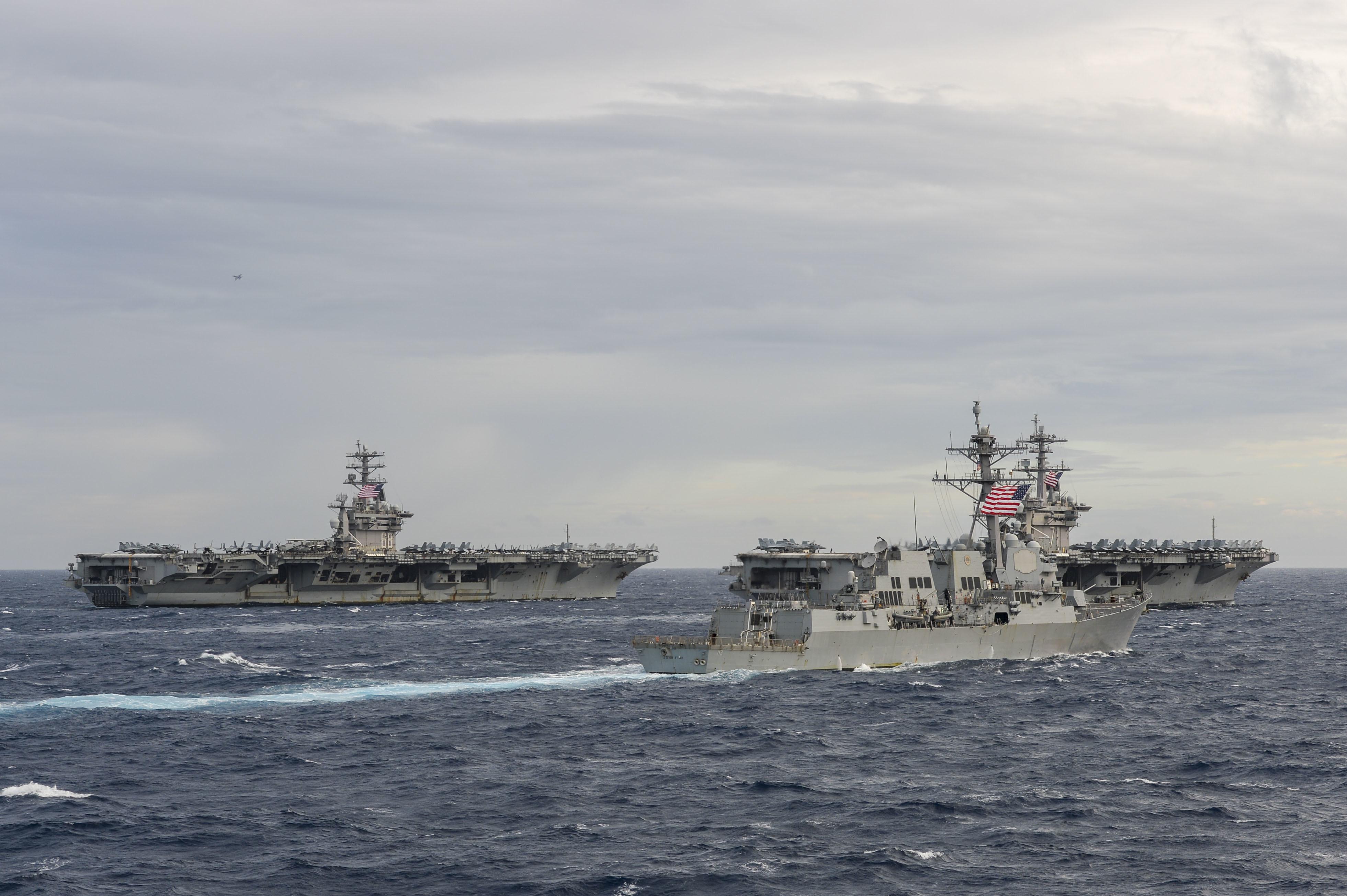 Estados Unidos continuarão operando no Mar do Sul da China para garantir a prosperidade de todos