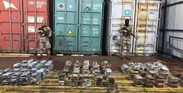 Panamá impede distribuição de 2,7 toneladas de drogas