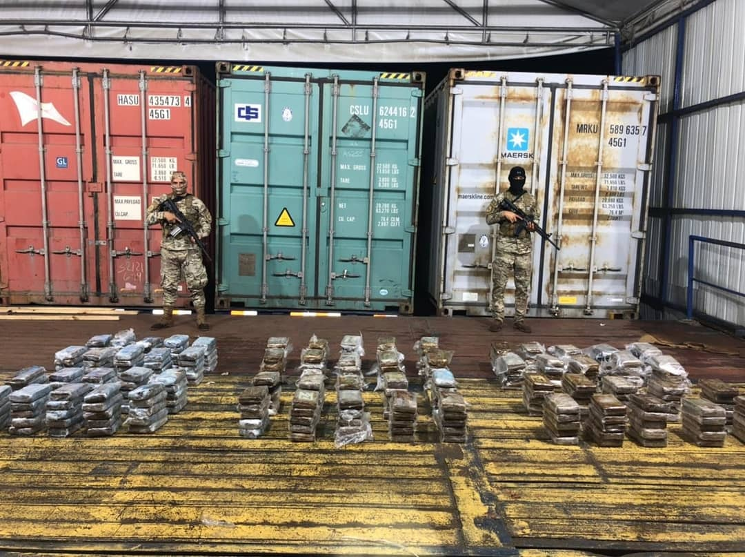 Panama Thwarts the Distribution of 2.7 Tons of Drugs