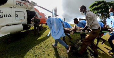 U.S. Airlifts Haitians To Safety After Earthquake