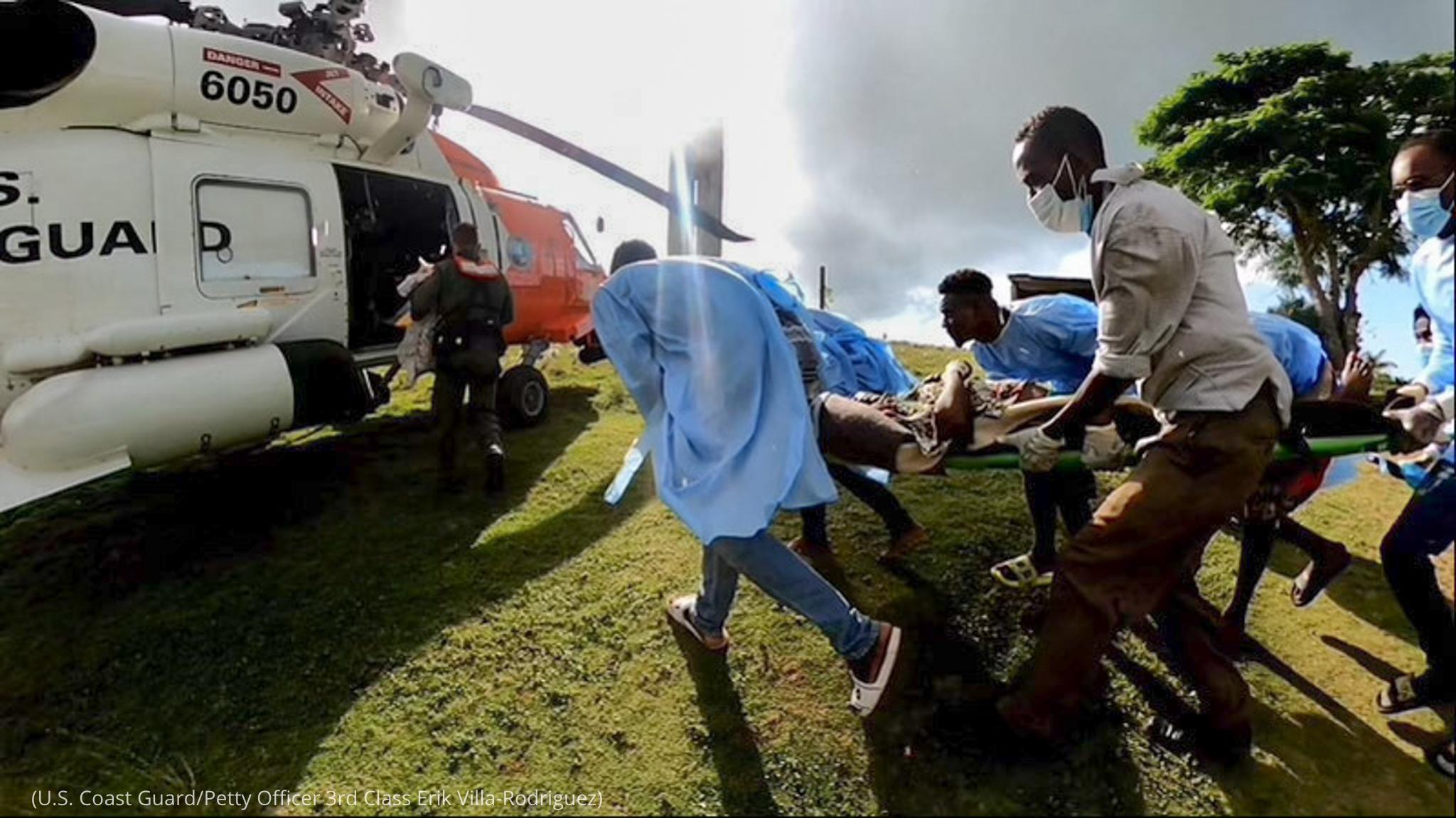 Estados Unidos pone a salvo por aire a los haitianos tras el terremoto