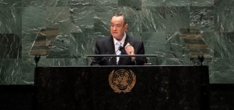 Guatemala Asks UN for Strategy Against Narcotrafficking in Venezuela