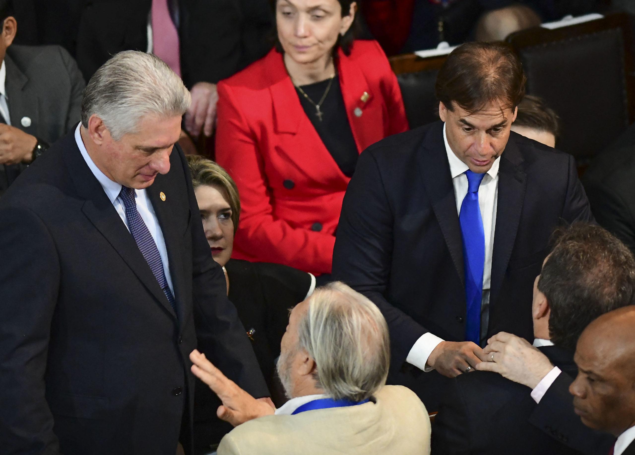 Lacalle Pou, Abdo Benítez, Take Aim at Leftist Authoritarian Regimes During CELAC Summit