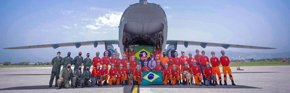 Brasil integra grupo de países latinoamericanos que brindan ayuda a Haití