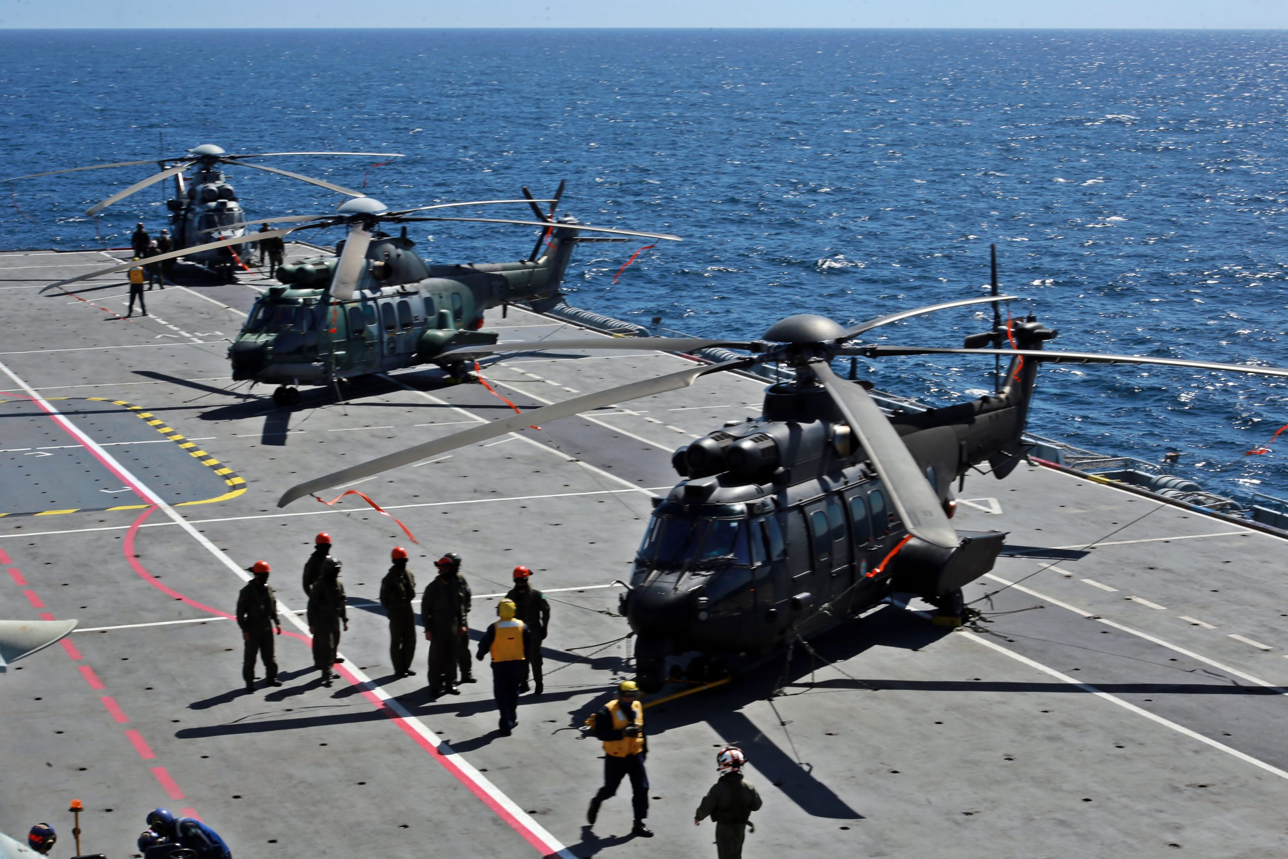 Brazilian Armed Forces Conduct Joint Operation Aboard NAM Atlântico
