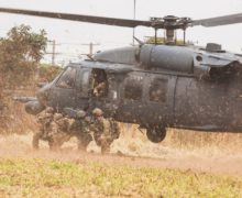 Aeronaves dos Estados Unidos participam de exercício operacional no Brasil
