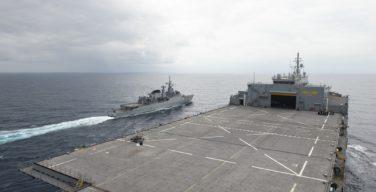 USS Hershel 'Woody' Williams Participates in Brazilian Exercise off Africa's Atlantic Coast
