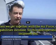 Interoperability – Admiral Garnier, commander of the Brazilian Navy
