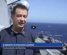 Interoperabilidade – Almirante de Esquadra Garnier, comandante da Marina