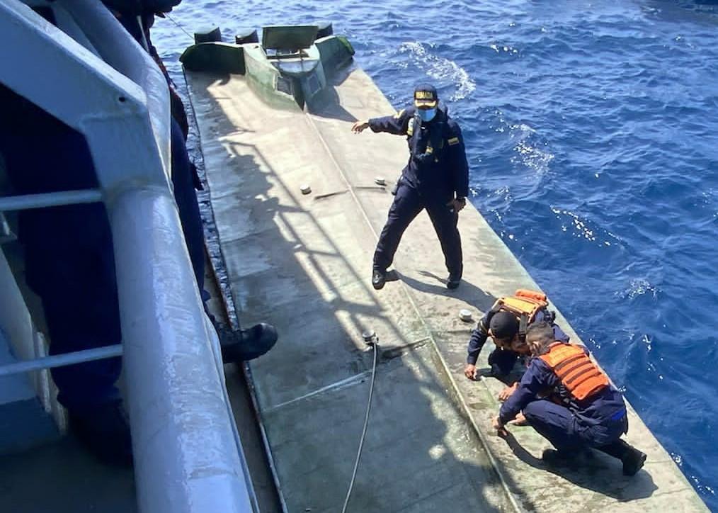 Armada de Colombia decomisa 4,3 toneladas de drogas