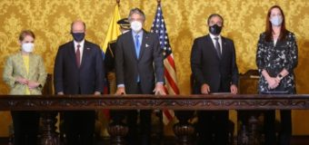 Ecuador, US Join Efforts Against Transnational Crime