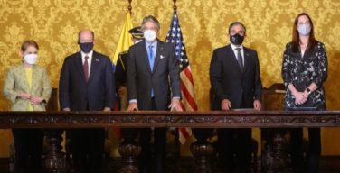 Equador e Estados Unidos integram esforços contra crime transnacional