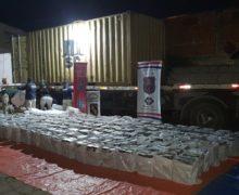 Autoridades paraguayas realizan decomiso récord de cocaína