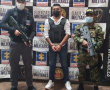 Colombia captura a alias Camilo 40, cabecilla de Los Contadores