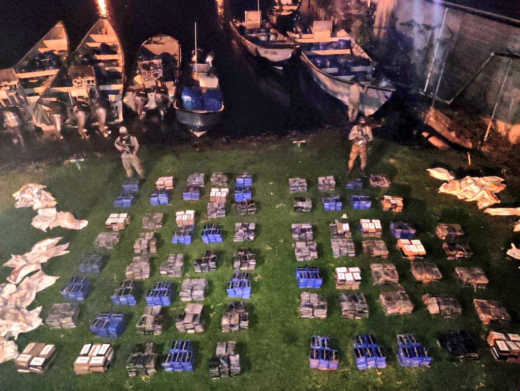 Panama Seizes 5.7 Tons of Cocaine in Naval Operations