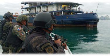 Força Pública do Panamá realiza exercícios para a segurança do canal interoceânico