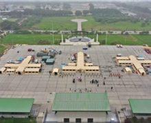US Donates 4 Mobile Emergency Hospitals to Peru