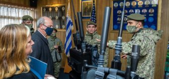 US Donates Equipment for Peacekeeping Operations to the Uruguayan Army