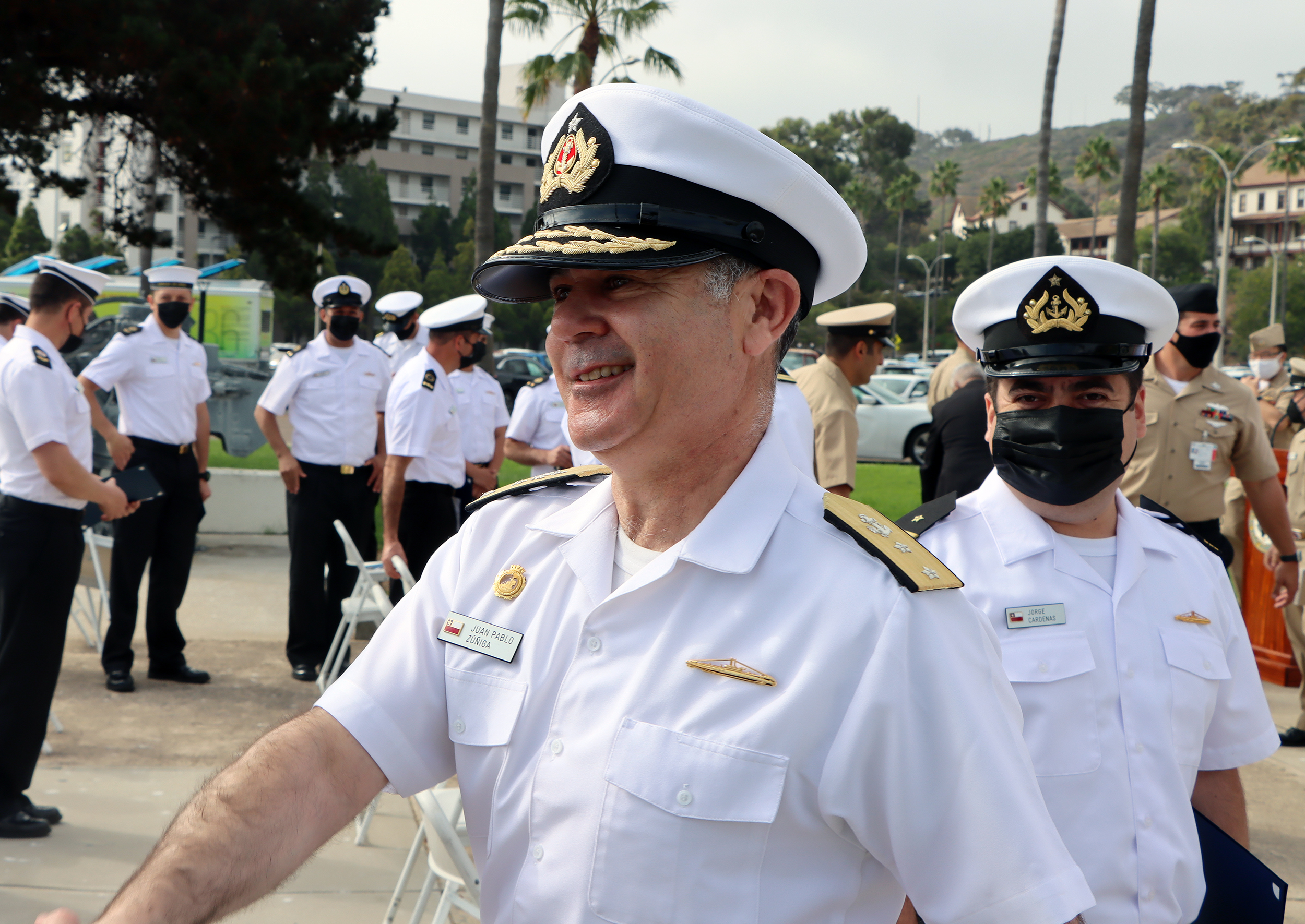 Chilean Submarine Forces Commander: Chile and the United States Have a Common Vision on the Importance of Navies