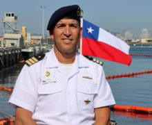 SS-22 Carrera Submarine Commander Discusses Diesel-Electric Submarine Initiative and Training with the US
