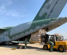 Brazil Delivers More Donations and Humanitarian Aid to Haiti