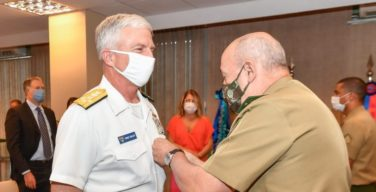 Comandante do SOUTHCOM realiza última visita ao Brasil antes de deixar o cargo