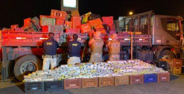Brasil: Polícia Federal apreende mais de 10 toneladas de maconha e desarticula grupo que enviava cocaína à África