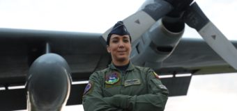 Woman at the Command of C-130 Hercules for the First Time in the Colombian Air Force