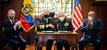 Estados Unidos apoiam Equador contra ameaças comuns