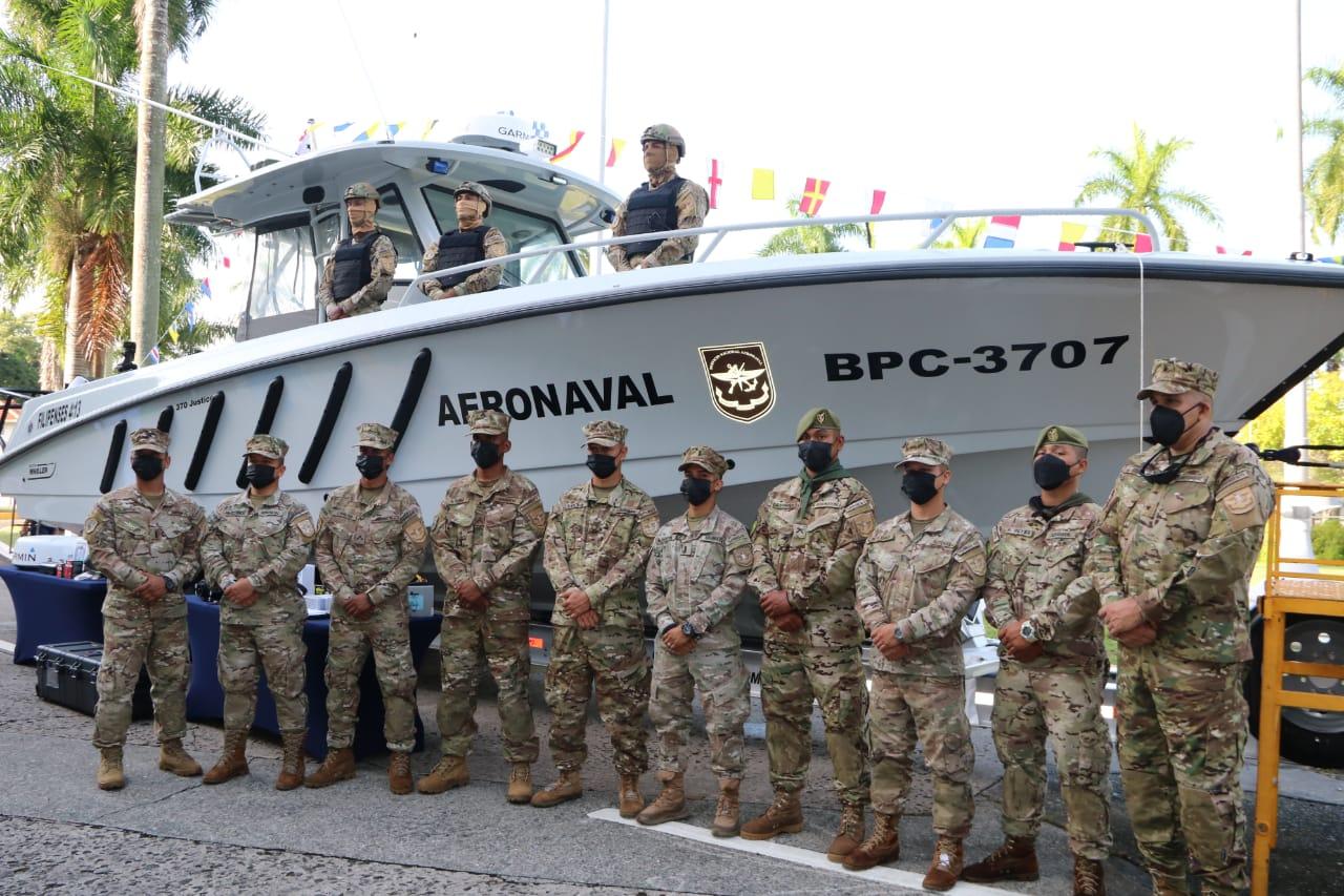 US Donates Search Boat, 15 Vehicles to Panama