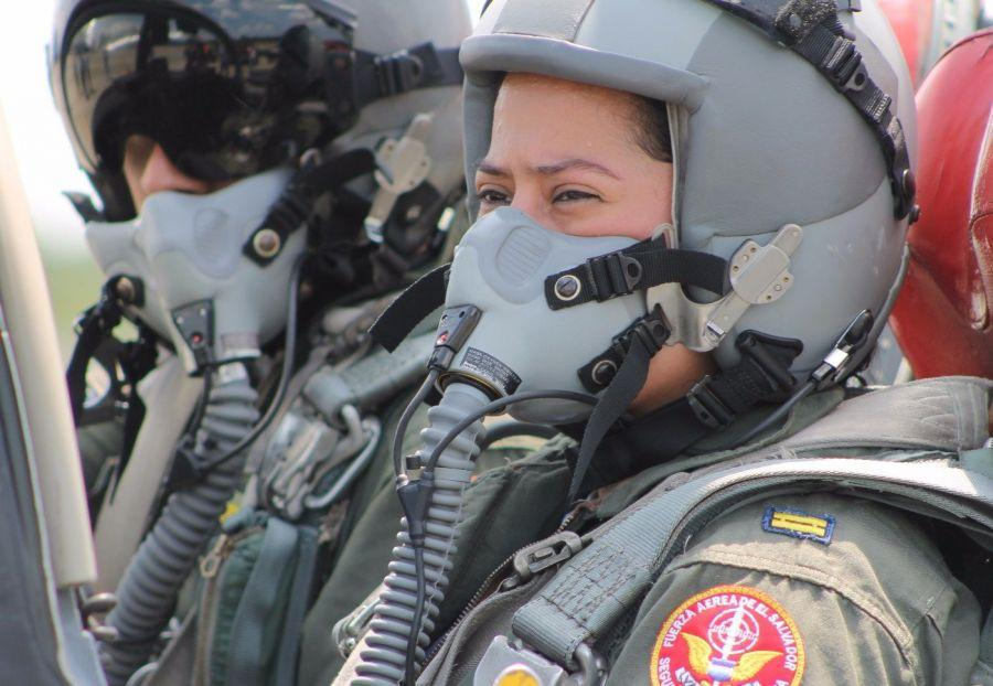First Lt. Mendoza understands that the responsibility of being the first female fighter pilot pushes her to work hard every day in each and every one of her flights and continuously learn more about the world of aviation.